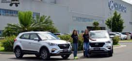 Velejadoras de ouro do Brasil, Martine Grael e Kahena Kunze recebem o novo Hyundai Creta