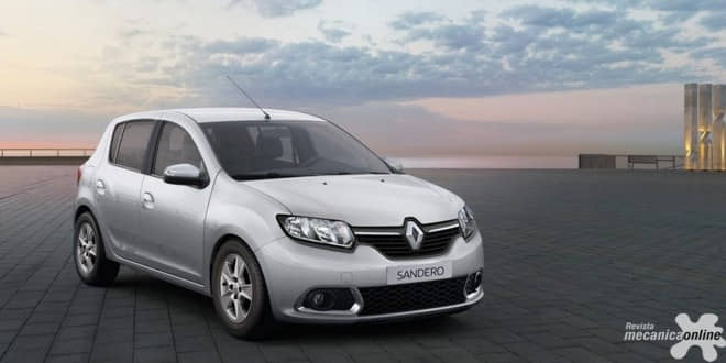 Renault Sandero é o quarto veículo mais vendido do Brasil em março