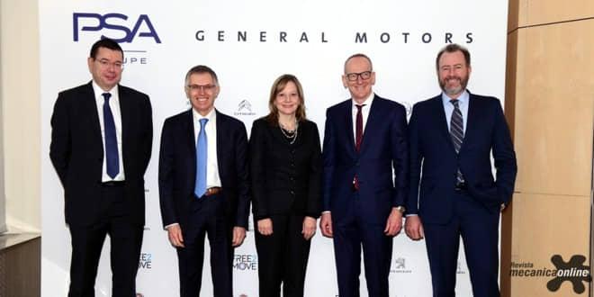 Opel/Vauxhall passa a integrar o Grupo PSA