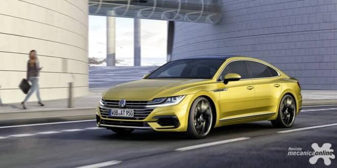 Volkswagen apresenta em Genebra o novo Arteon, um gran-turismo de vanguarda