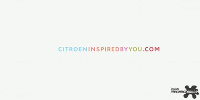 """Citroën lança sua nova campanha institucional """"Citroën Inspired By You"""""""