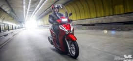 Honda SH 300i 2017: A scooter completa de série