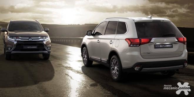 Mitsubishi Outlander ganha ainda mais praticidade, tecnologia e conforto