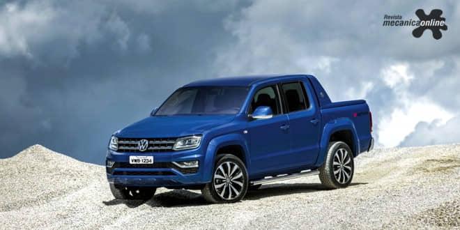 Volkswagen exibe Amarok na 6ª edição da FEMEC, em Uberlândia