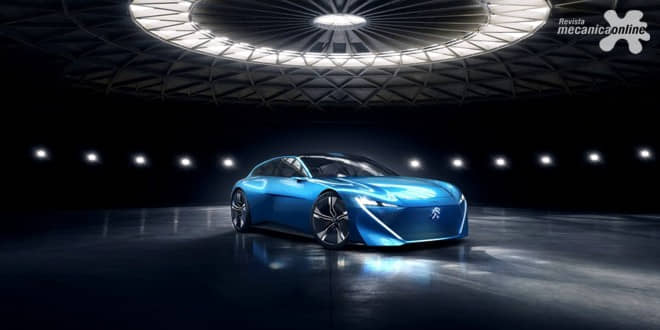 Quem nunca sonhou com um carro que nos compreenda e conheça a ponto de prever mínimos desejos? PEUGEOT INSTINCT CONCEPT