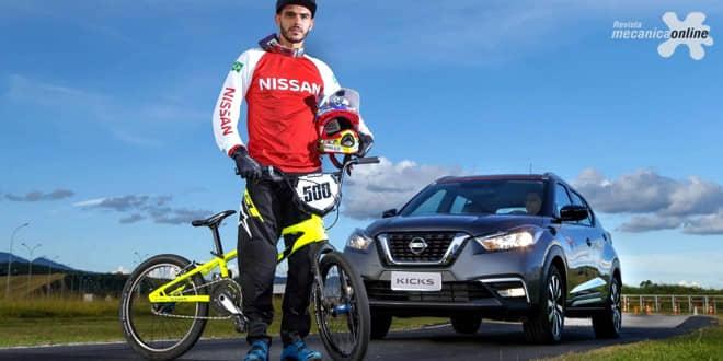 Atleta do Time Nissan 2.0, Renato Rezende visita Complexo Industrial de Resende e conhece linha de produção de onde sairá o Nissan Kicks nacional
