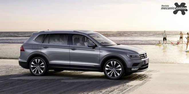 Volkswagen apresenta Tiguan Allspace, com até sete lugares, no Salão de Genebra