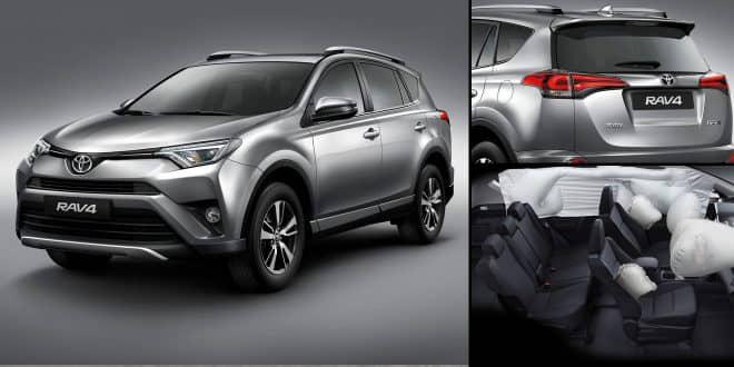 Em versão única 4×2 CVT TOP, com motorização 2.0L, Toyota lança RAV4 2017 por R$ 159.290