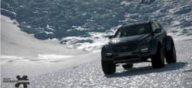 """SUVs da Hyundai são os primeiros carros """"convencionais"""" a cruzar a Antártida"""