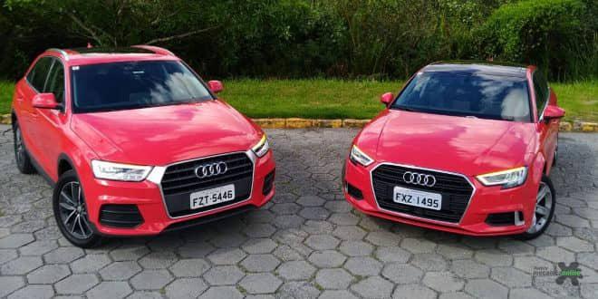 Confira as primeiras impressões dos Audi A3 Sedan Ambition e Q3 1.4 agora flex