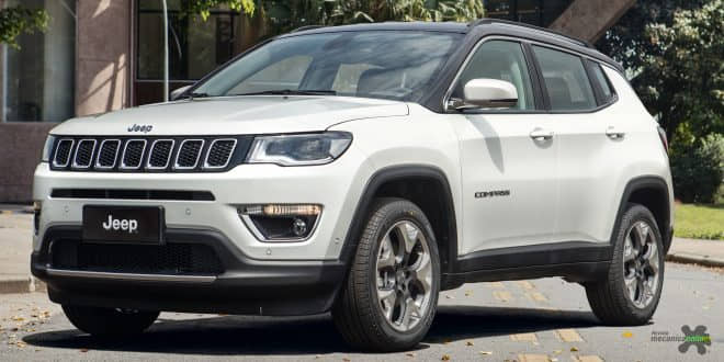 Avaliação do Jeep Compass 4×2 Limited 2.0 Tigershark