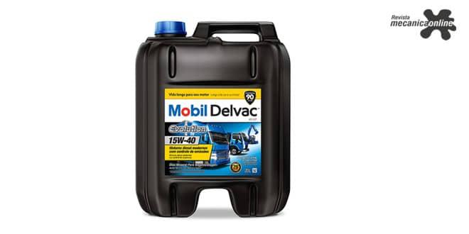 Mobil Delvac Evolution é o primeiro óleo lubrificante para motor a diesel com tecnologia API CK-4 no Brasil