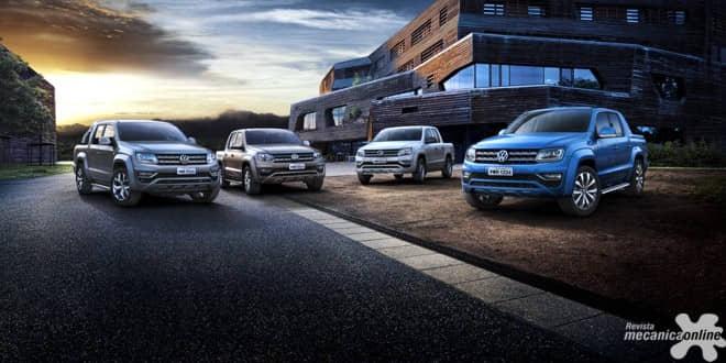 Picapes Volkswagen são destaque na Agrishow 2017