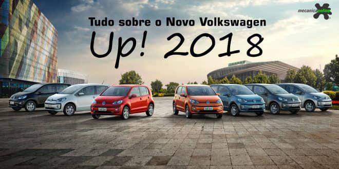 Tudo sobre o Novo Volkswagen Up! 2018. Release, design, engenharia, conectividade e primeiras impressões