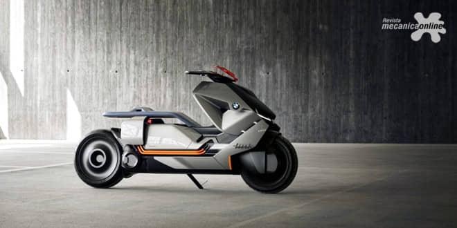 BMW Motorrad Concept Link: reinventando a mobilidade urbana sobre duas rodas