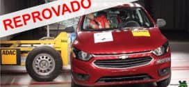 Mais vendido no Brasil, Chevrolet Onix tira nota zero em teste de impacto lateral