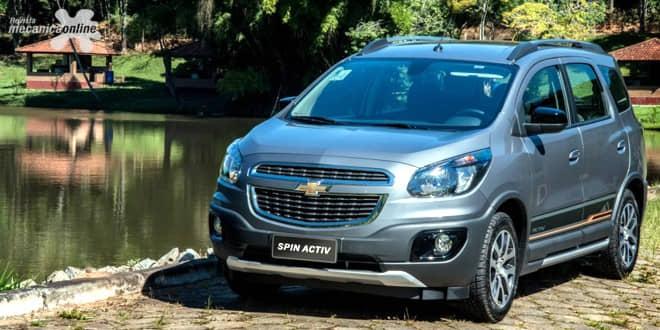 Nova geração do multimídia MyLink é a novidade do Chevrolet Spin