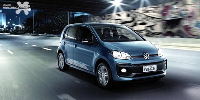 Volkswagen do Brasil começa a exportar o novo up!