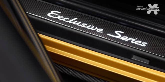 Uma raridade com ainda mais luxo e potência: o novo 911 Turbo S Exclusive Series