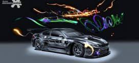 Novo BMW Art Car #18 é apresentado por artista multimídia chinesa