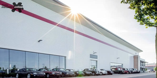 Jaguar Land Rover inaugura a Classic Works, instalação dedicada somente aos clássicos