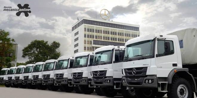 Mercedes-Benz exporta 40 caminhões para Serra Leoa e Emirados Árabes