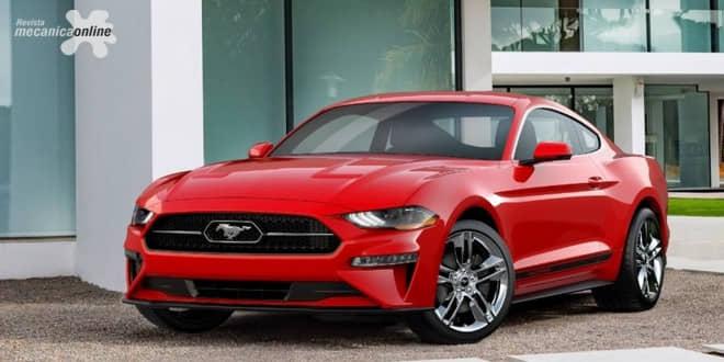 """Ford Mustang 2018 com novo pacote """"Pony"""" resgata emblema tradicional dos anos 60"""