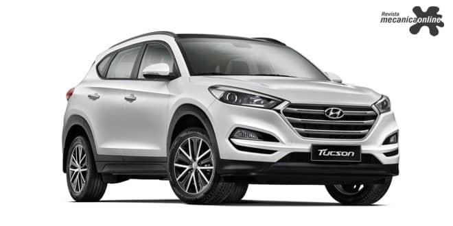 Hyundai New Tucson passa a contar com novas versões de acabamento