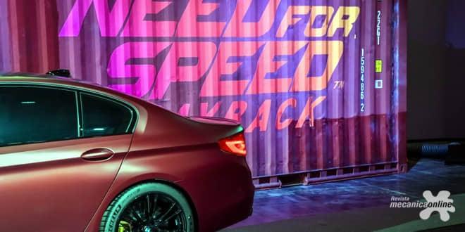BMW e EA estreiam o novo BMW M5 em Need For Speed Payback