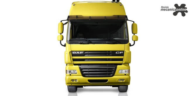 Caminhões DAF contam com exclusivo faróis Skylight