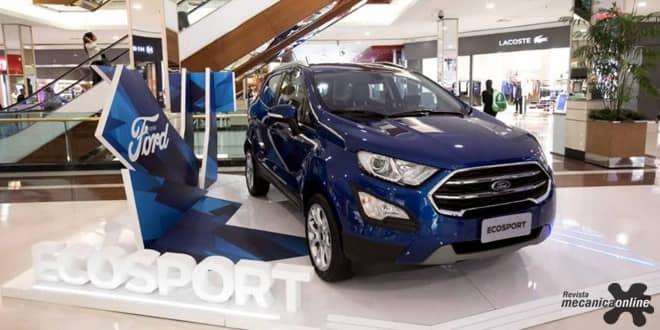 """Ford realiza o evento """"Escosport Week"""" com test-drive em mais de 350 distribuidores em todo o Brasil"""