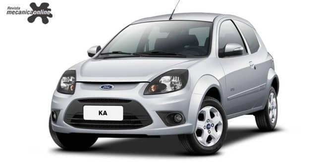 Ford divulga informações técnicas do Ka de segunda geração no site Motorcraft