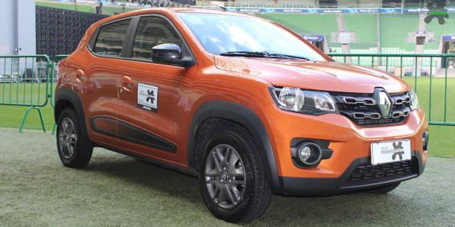 Renault Kwid é o segundo carro mais emplacado em setembro