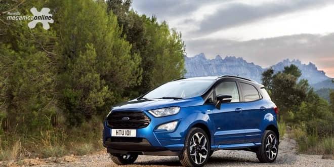 Ford estreia na Alemanha osnovosEcosport eMustang que chegam aomercado europeu
