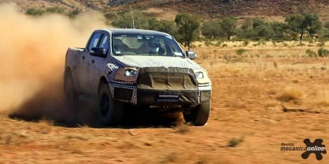 Ford revela as primeiras imagens da Ranger Raptor