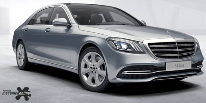 Mercedes-Benz Classe S ainda mais inteligente ganha novos motores e design