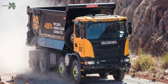 Scania Heavy Tipper chega como solução completa para a mineração