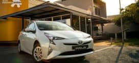 Toyota Prius, híbrido mais vendido no Brasil, marca presença  no 13º Salão Latino Americano de Veículos Híbridos-Elétricos