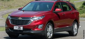 Equinox completa linha de SUVs da Chevrolet no Brasil