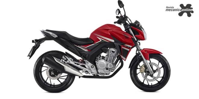 Honda CB Twister 2018: Novas cores e grafismos
