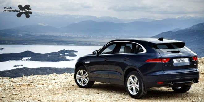 Jaguar F-PACE chega à versão 2018 com nova opção de motor 2.0 à gasolina