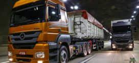 Mercedes-Benz lança novo Axor com túnel do motor rebaixado na Fenatran