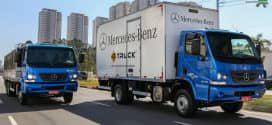 Mercedes-Benz lança 15 novos recursos para a linha de caminhões Accelo na Fenatran