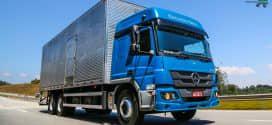 Fenatran marca evolução tecnológica na linha Atego da Mercedes-Benz