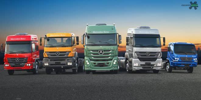 Confira a nova linha 2018 de caminhões Mercedes-Benz apresentados na Fenatran