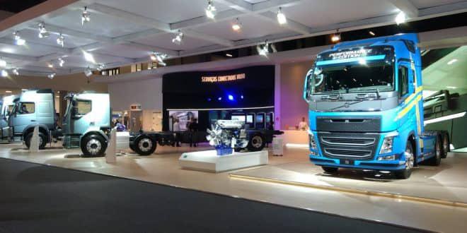 Volvo calcula venda de R$ 600 milhões em veículos na Fenatran