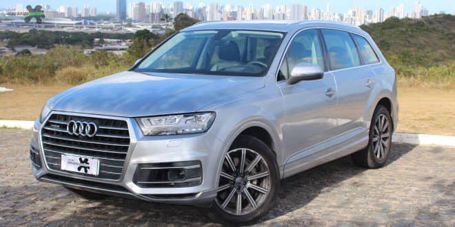 Confira a avaliação do Audi Q7 com motorização diesel 3.0l