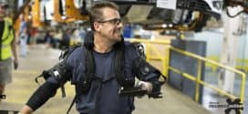Ford testa novo exoesqueleto de vestir para apoiar os operadores na linha de montagem