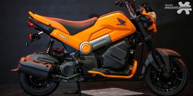 Honda Navi: versatilidade das scooters com as características de uma pequena motocicleta