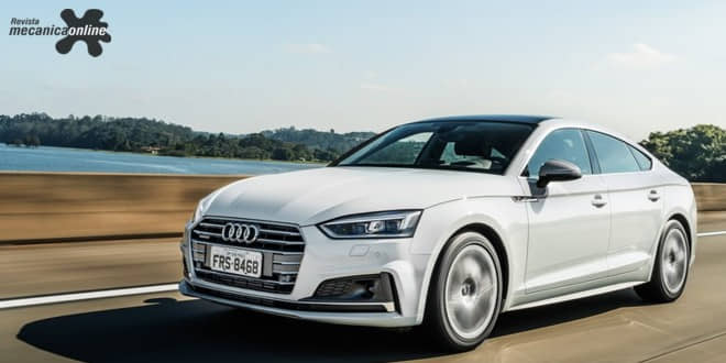 """Audi A5 é eleito """"Carro Premium do Ano 2018"""" pela revista Autoesporte"""